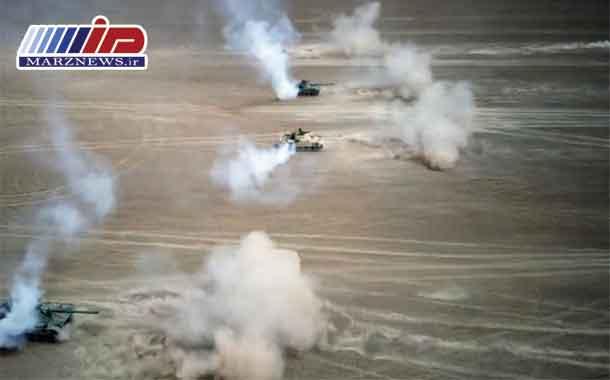 استقرار تانک های چین در مرز هند