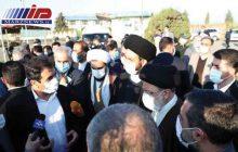 رئیسجمهوری از عملیات پایاب سد خداآفرین بازدید کرد